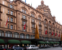 Harrods department store in Knightsbridge,London
