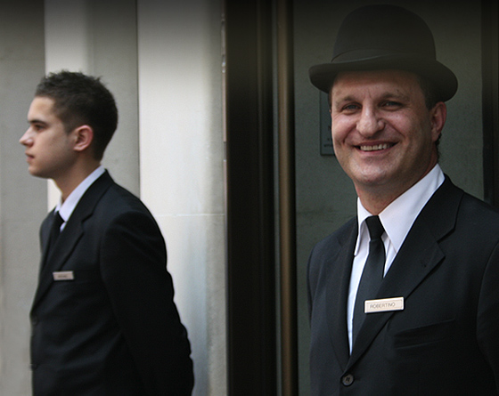 The 5 star luxury May Fair Hotel - Concierge team