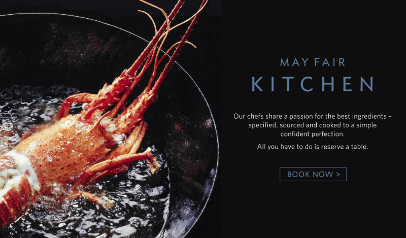 May Fair Kitchen, new restaurant opening in Mayfair, London